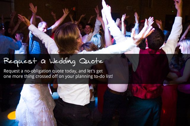 Request a Wedding DJ Quote from Audioworks DJ in Mankato, MN