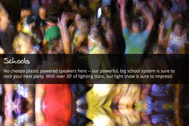 We DJ School Events around Mankato!